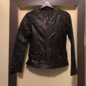 STS Leather Coat